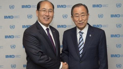 UN's Ban Ki-moon calls on IMO to 'translate' Paris Agreement into tangible results