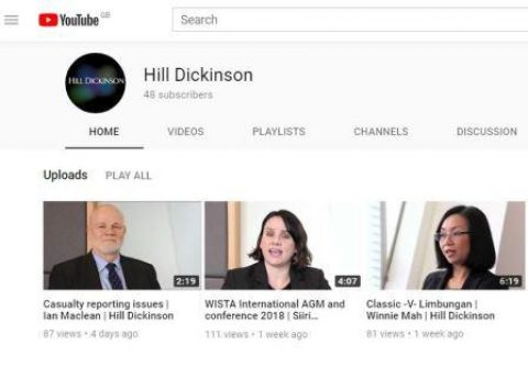 Hill Dickinson Enhances Knowledge Provision With Video Blogs