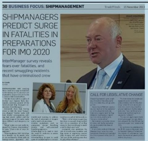 Shipmanagers predict surge in fatalities in preparations for IMO 2020